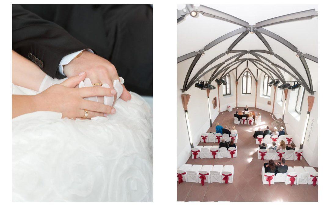 Nikolauskapelle in Frankfurt / Bergen-Enkheim – Hochzeitsfotografie