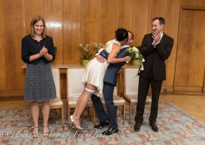 Standesamtliche Hochzeit / Trauung im Römer